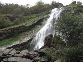 Powerscourt waterfall II by Elanor-Lothlorien