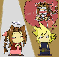 Aerith's a good girl.... by NeoSlashott