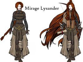 Mirage Lysander by LunaAlexiel