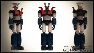 Mazinger Z Texture by Gersith