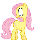 Fluttershy Wingless by Durpy