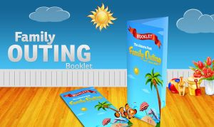 Family Outing Booklet by Oceandeep76