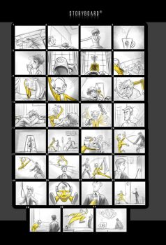 Storyboard final by X-Factorism