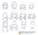 Hairstyles pack 2 by Kimir-Ra