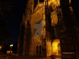 York Minster by Night by blackrose1959