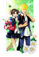 NaruTen: High School Love Under the Leaves by JuPMod