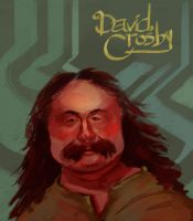 David Crosby by juliabax