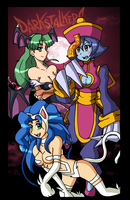 The Darkstalkers Trio by Elias1986