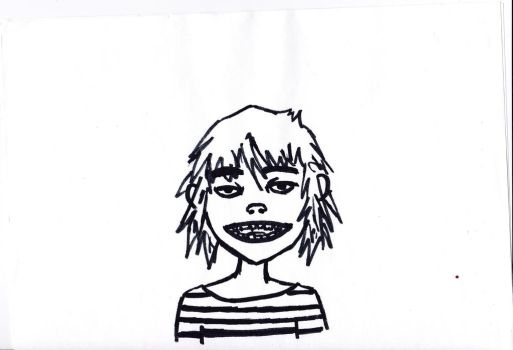 Striped Tee by TheMarvelSketcher