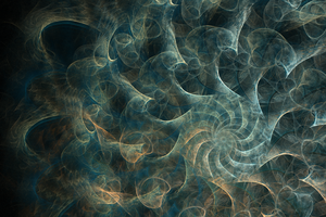 Turbulence - Fractal Art by CMWVisualArts