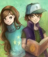 Gravity Falls by mnieva