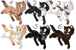 Point Adoptables-Cats 3 CLOSED by AnOtherSunrise