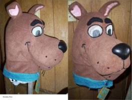 Scooby head by Dodo-Butt