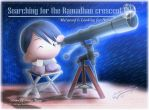 Searching for CrescentIV 1432H by Kauthar-Sharbini