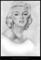 Marilyn Monroe by Pati-szonek