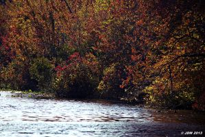 Fall at the lake by JDM4CHRIST