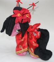 Custom My Little Pony oriental Plush Kawari by eponyart