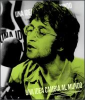 John Lennon - Idea by RIKECH