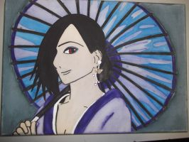 Geisha Canvas by Luna-Rox