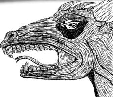Dragon Face by Up-Your-Arsenal-N90