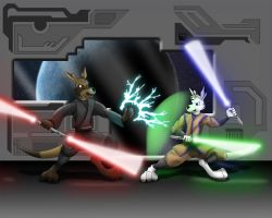 Unleash the Force by WhiteRoo