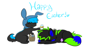 Happy Easter ! by Chiiboo
