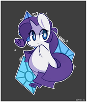 Cutie Mark - Rarity by MACKINN7