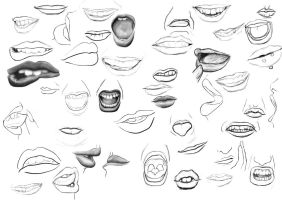 Mouths-130215 by Sarshka