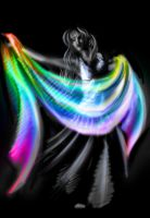Rainbow belly dance by Renchee