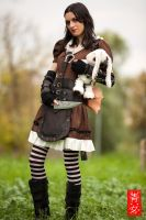 Alice Madness Returns-Steampunk Alice by elma22