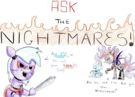 Ask the Nightmares! by twinkleheart12