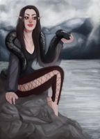 Slithering Snakes by Poevella