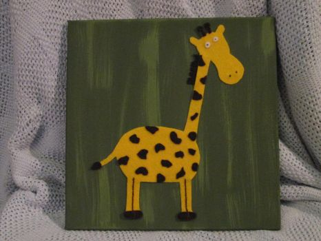 Giraffe 2 by DuctapeFaerie