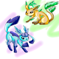 New Eevee Evolutions by goldfish078
