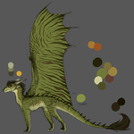 (Redesigned) Ith - reference sheet -2015- by GoldenNove