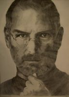 Steve Jobs Protrait by 7gnehzed