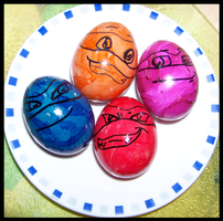 TMNT Eggs by T-i-g-g