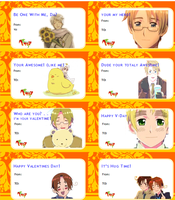 Hetalia Valentines Day Cards! by MeganD98