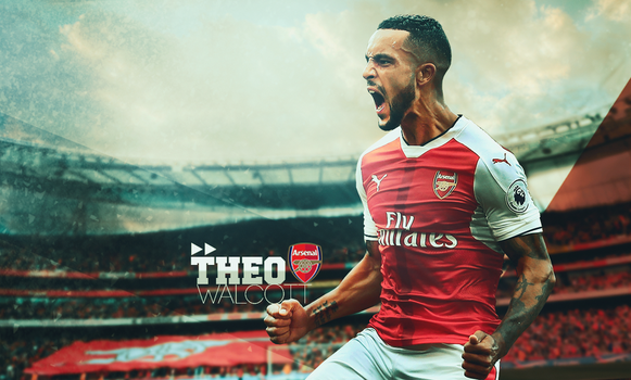 Theo Walcott|Arsenal by Sugandh-S