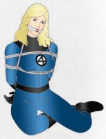invisible woman atada by axelpablo