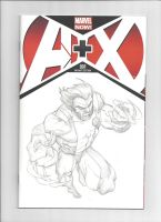 Woverine A plus X Sketch Cover by GavinMichelli