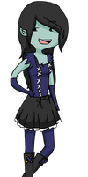 AT - Marceline the Nightosphere Queen by DeadlyImagination