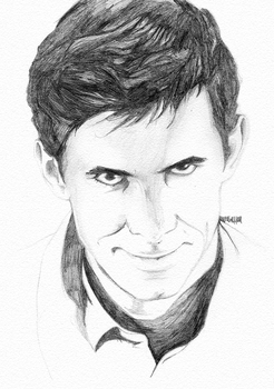 Norman Bates by laurahutton