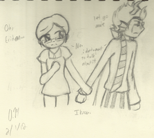 HS - Annie and Eridan1 by Anome-chan