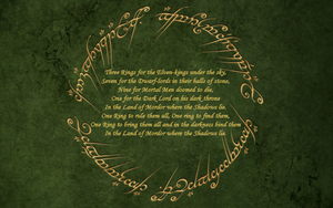 Lord of the Rings poem by Silvador