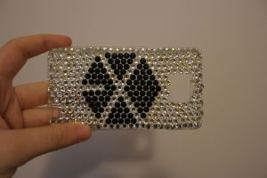 EXO blingy phone cover *w* by Deec98