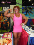 Rita Sargo Is A Muscle Pinup by zenx007
