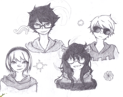 bETA kIDS HOMESTUCK by ohrian