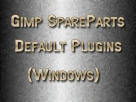 Gimp-SpareParts Default Plugin by photocomix-resources
