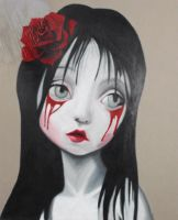 Practicing with Mark Ryden by Dvinedebris